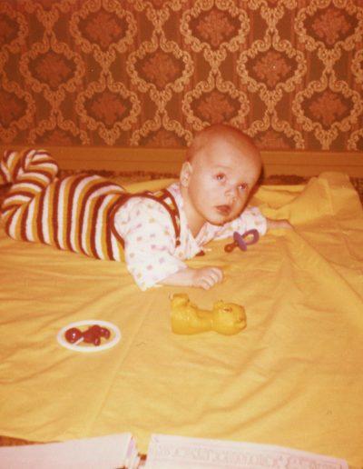 Vauva ja lelut