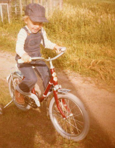 Pyöräilyn harjoittelua