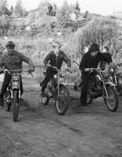 Mopedien monttuajot