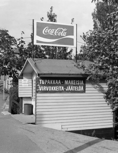 Kioski Latokartanossa