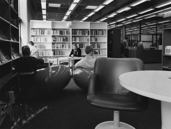Kirjaston lastenosasto